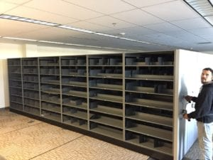 Used Mobile Shelving